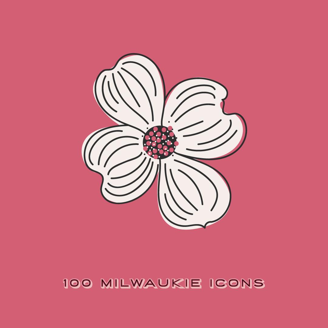 Milwaukie Icon Dogwood Flower